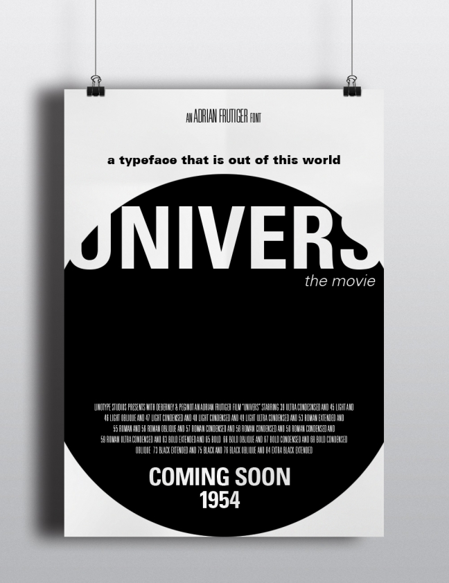 Univers Movie Poster