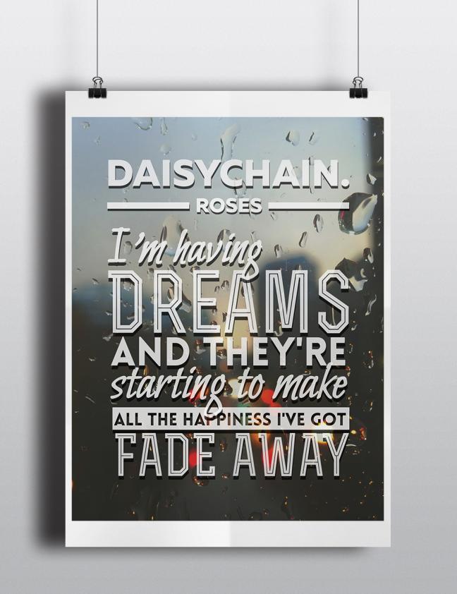 daisychain. Poster